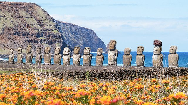 Ahu Tongariki / Easter Island / Rapa Nui / Isla De Pascua (Chile) | Flickr - Photo Sharing!