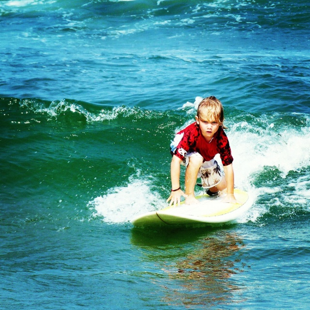 Surfer kid...