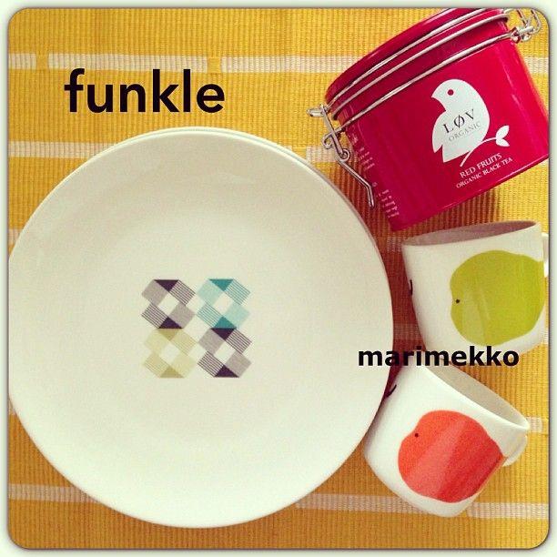 Funkle porcelain @cafekurumi #funkle