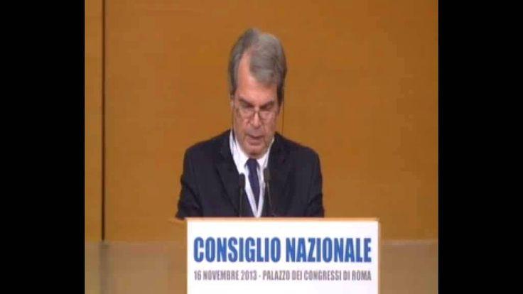 Renato Brunetta al Consiglio Nazionale Pdl-Forza Italia - 16/11/2013