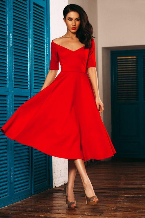 Взять в прокат Женская одежда Платья Красное платье Lublu Москва