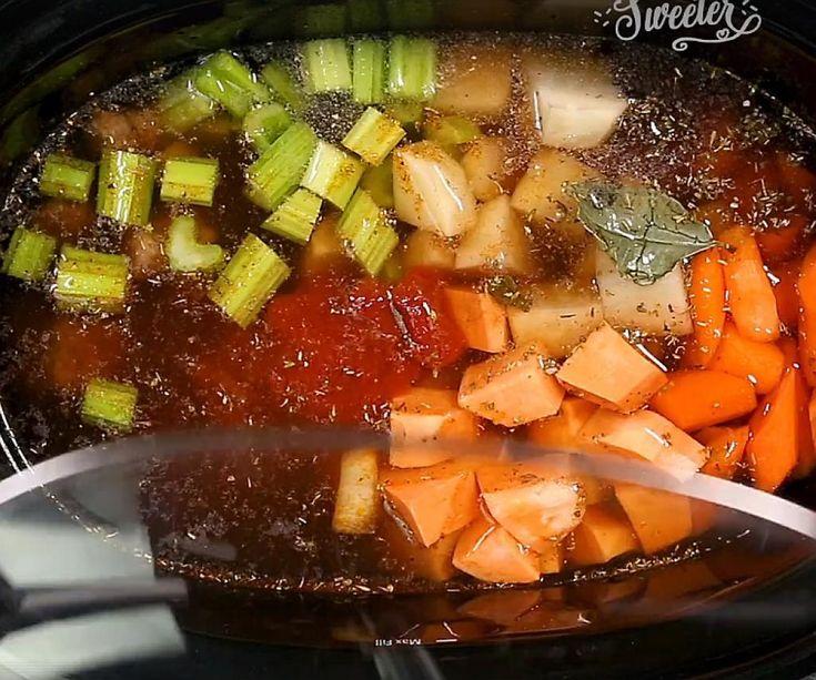 Ragoût boeuf et légumes à la mijoteuse, digne de celui de grand-maman - Recettes - Ma Fourchette