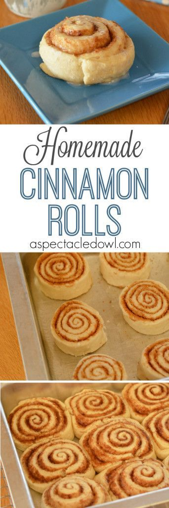Homemade Cinnamon Rolls - Cinnamon rolls are one of the greatest things on the planet and if they're homemade cinnamon rolls? Oh, mama!