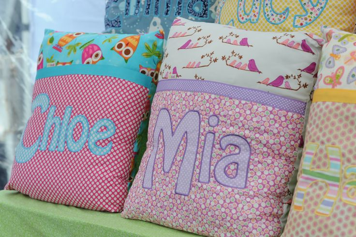 Personalised cushions by Elefunk