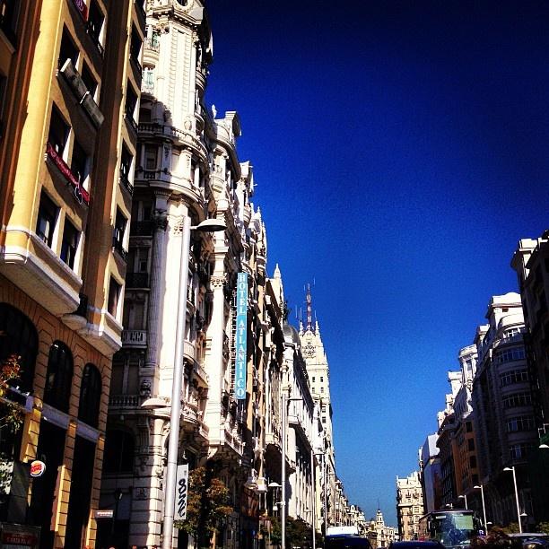 #madrid #granviamadrid #granvia