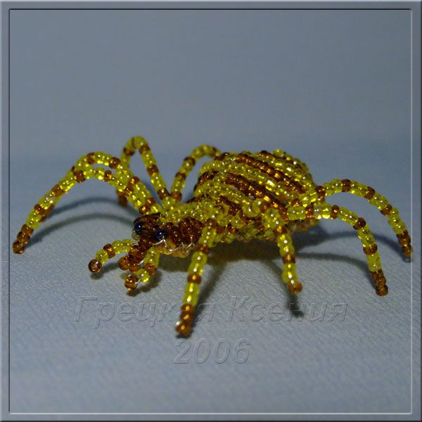 FREE Pattern - Beaded Spider featured in Bead-Patterns.com Newsletter