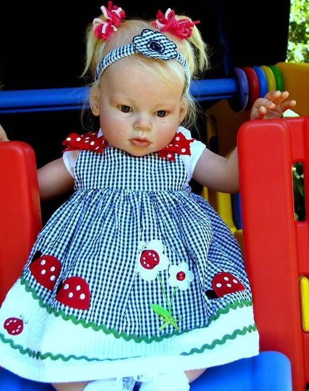 Reborn Baby Girl or Boy  Doll Arianna by Reva Shick