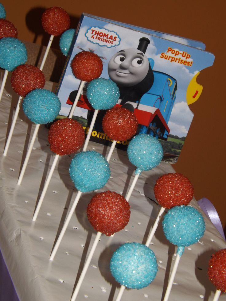 Thomas cake pops