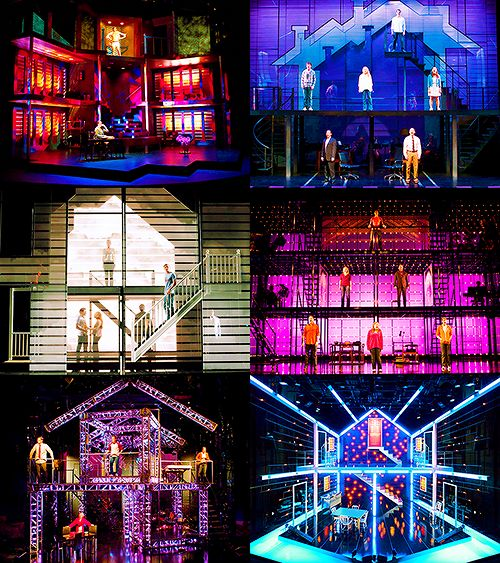 "Various sets for ""Next to Normal"""