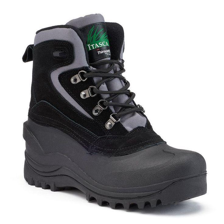 Itasca Lutsen Women's Mid Calf Boots, Size: medium (10), Black