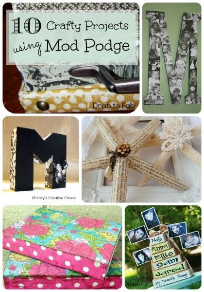 mod podge craft ideas 10 mod podge ideas initials posts and tutorials 4977