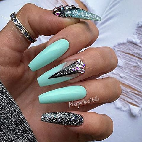The 25+ best Long nail designs ideas on Pinterest ...
