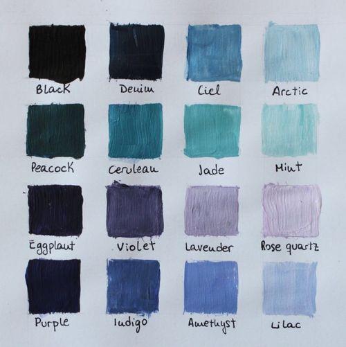 Imagem de blue, colors, and art