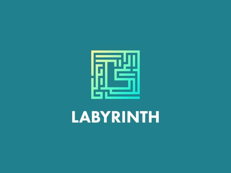 Labyrinth (Maze) by LeoLogos.com   Smart Logos Designer #Design Popular #Dribbble #shots