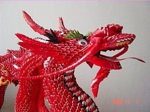 3d origami chinese dragon instructions