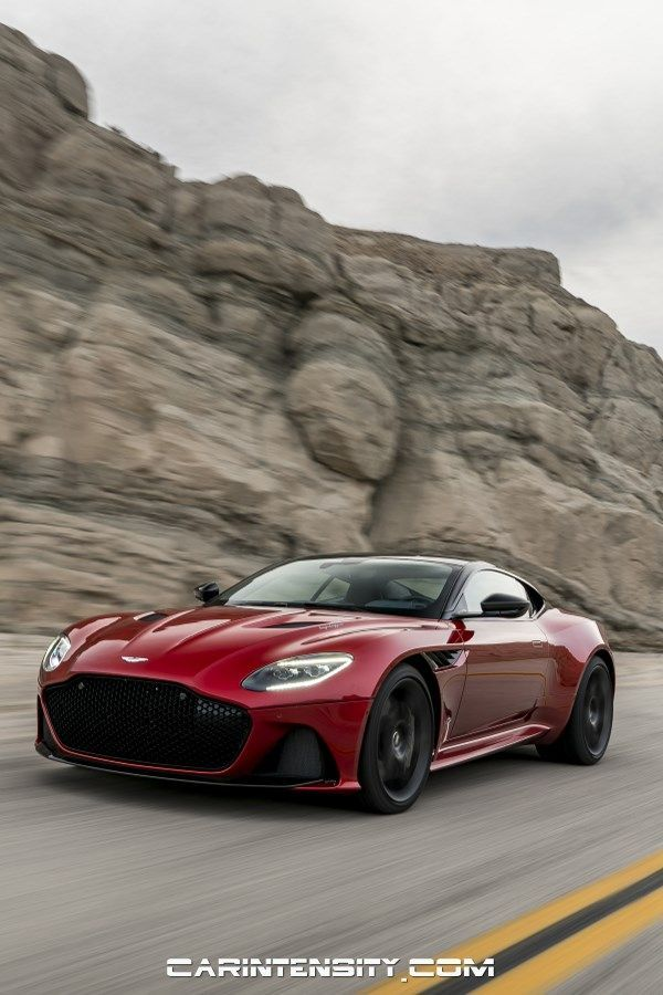 Red 2019 Aston Martin Dbs Superleggera Astonmartin Dream Cars
