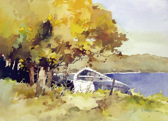 Watercolor Painting by Bill Vrscak