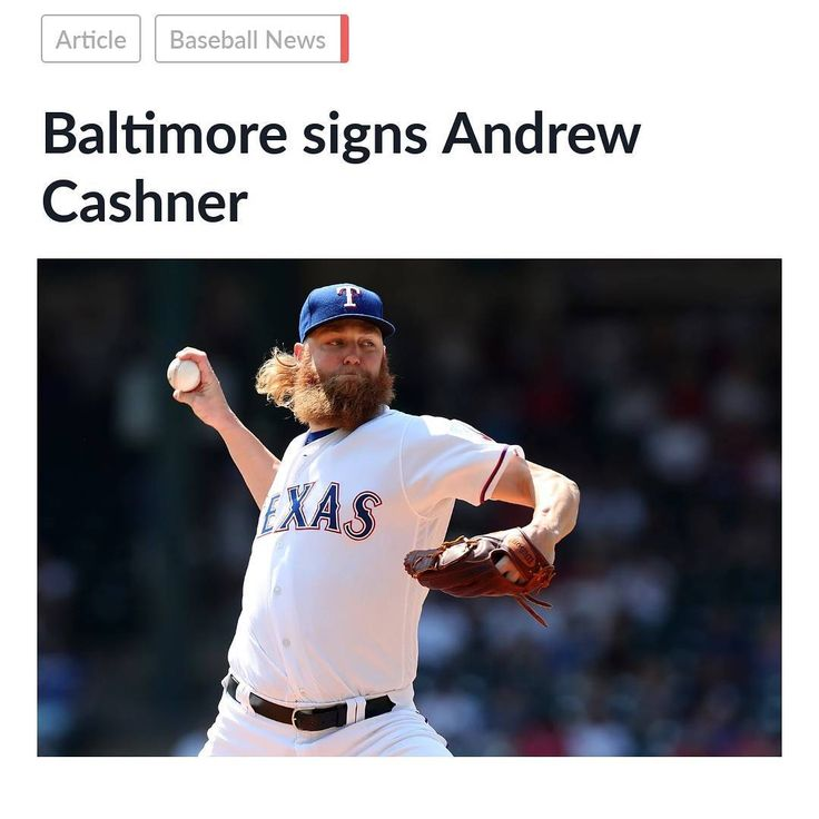 @orioles_news_2018  The Orioles sign Andrew Cashner to a two year $16 million contract. Orioles add veteran arm to a young pitching staff.