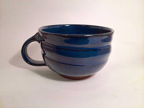 Soup mug cappucino mug pottery soup mug ceramic soup mug