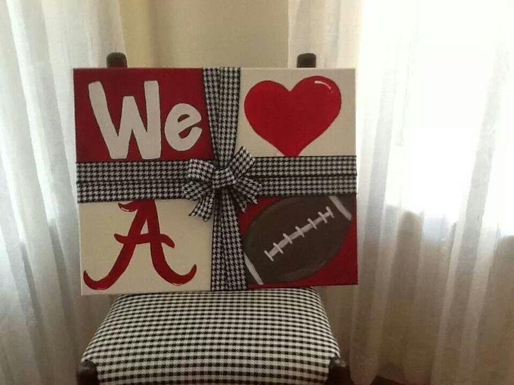 We love Alabama football