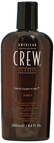 American Crew 3-in-1 Shampoo, Conditioner, Body Wash, 8.45 Ounce *** Want additional info? Click on the image. #hairproduct