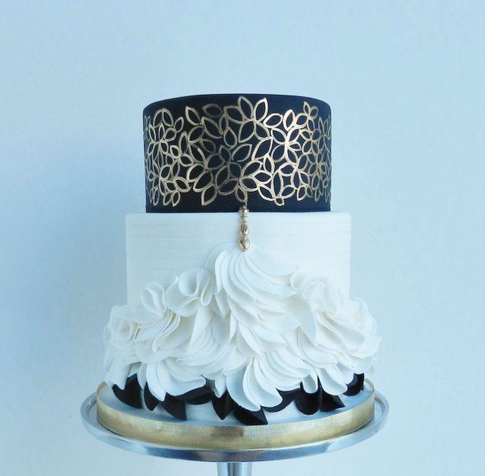 35 Gorgeous Wedding Cakes from Talented The Cake Whisperer - MODwedding
