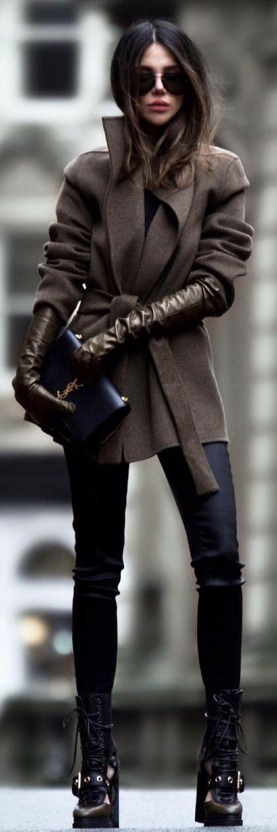 Tenues D'hiver, Style D'Hiver, Mode De Blogger, Style De Blogueur, Tenue D'Hiver Mignonne …