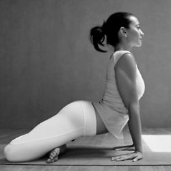 This is such a nice progression once in lotus. You can access the hip flexors beautifully and those inner forearms - what a great stretch. Enjoyed and repinned by yogapad.com.au