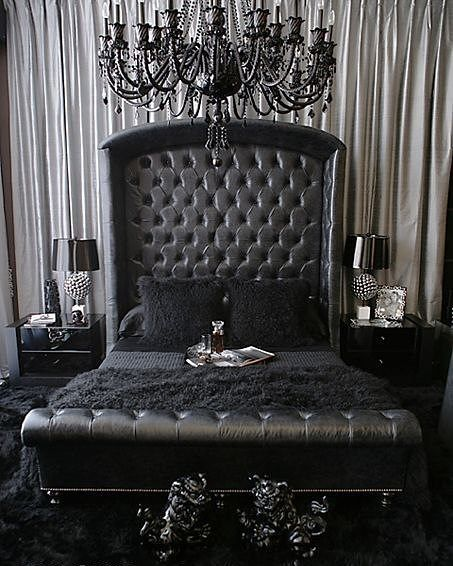 gothic baroque bedroom - Baroque Home Decor