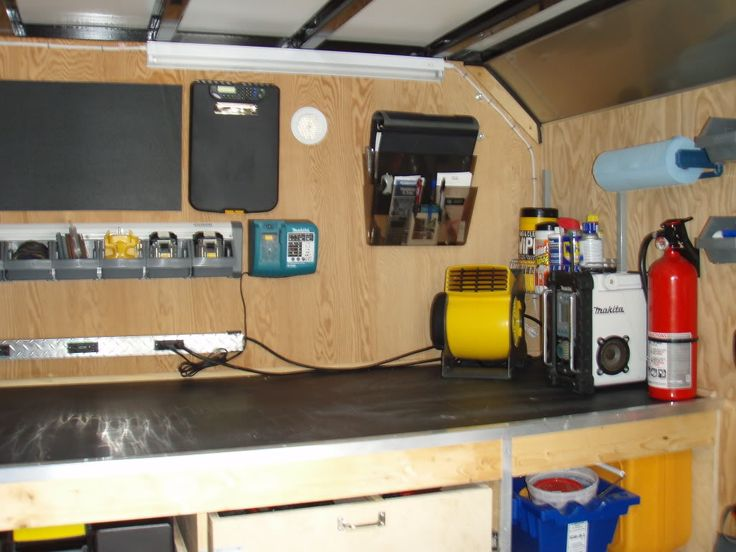17 Best Images About Enclosed Trailer On Pinterest
