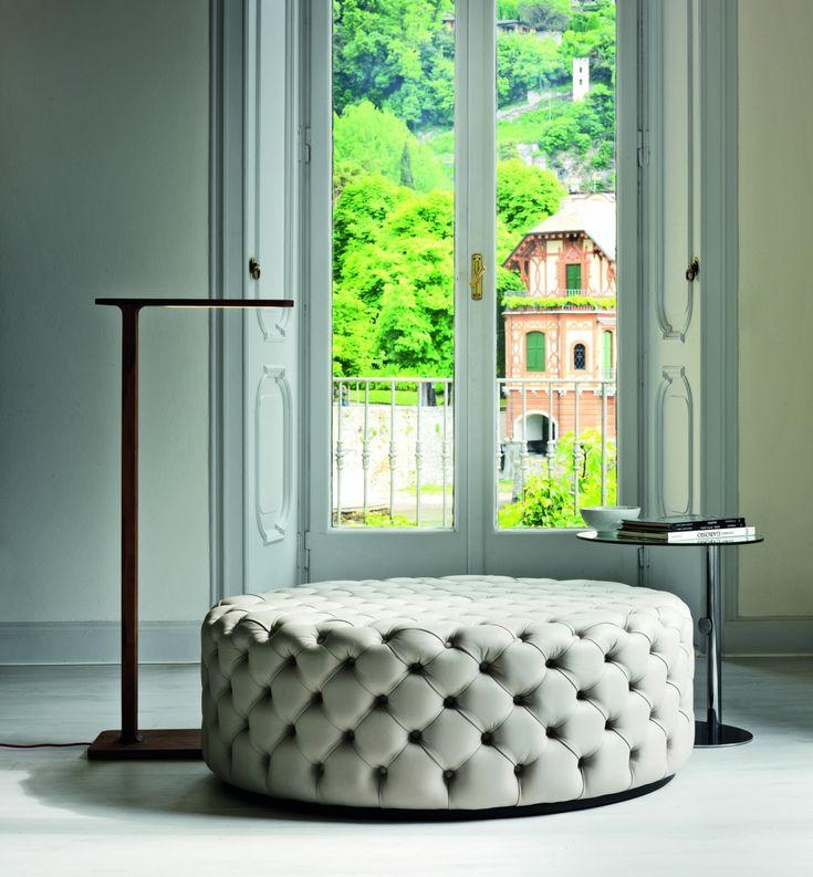 living room poufs%0A Alcide Pouf