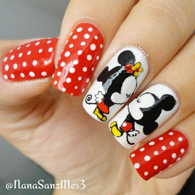 43 best unas y mas disney images on Pinterest | Nail scissors ...