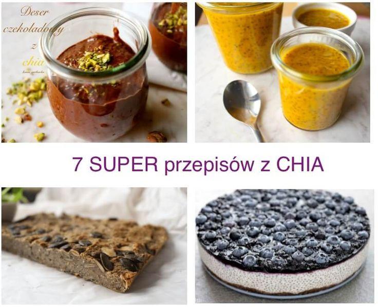 Przepisy z chia mają mało kalorii i są dziecinnie proste wykonaniu. Ośmielam się nawet powiedzieć, że mają wręcz lecznicze działanie na nasz organizm