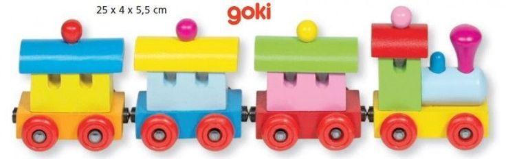 Zabawki drewniane, pociąg Sofia dostępne w całej Polsce