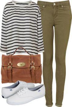 h & m khaki jeans - Google Search