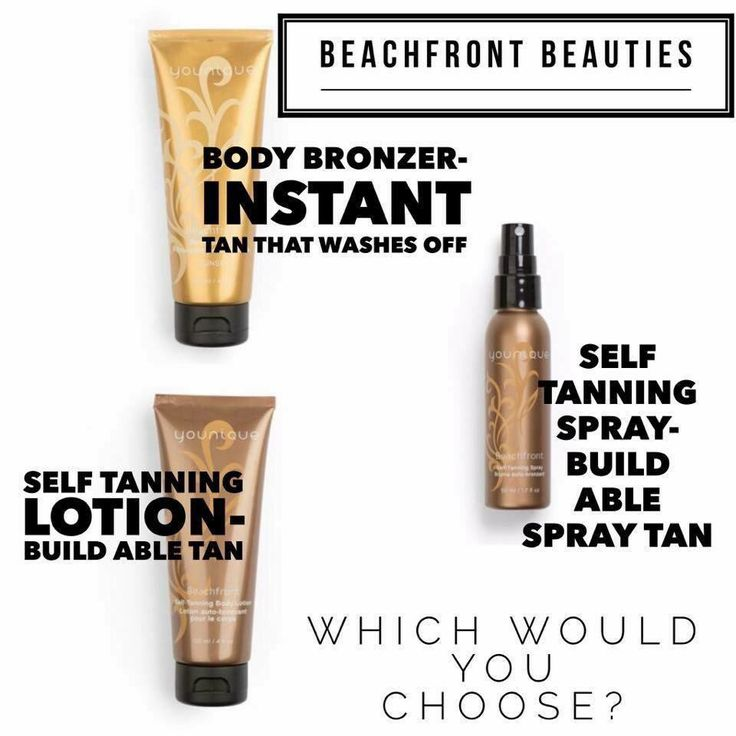 Tried my self tanning lotion - and I LOVE it! #younique4life www.crazy4longlashes.com