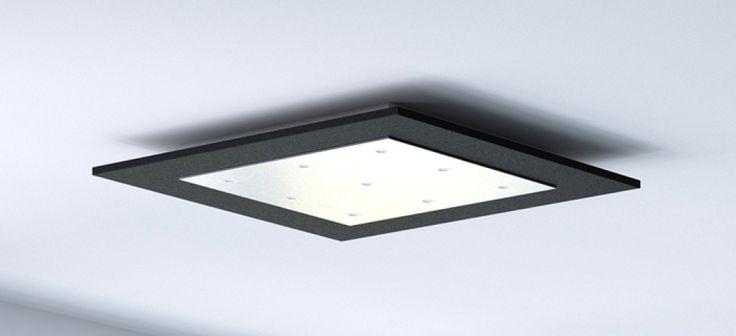Deckenlampen Wohnzimmer Modern Flache Deckenleuchten Design