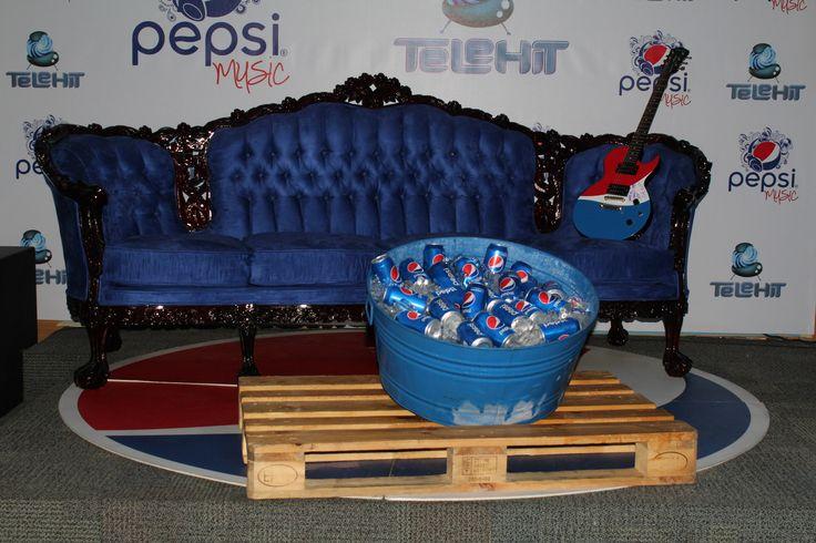 """TELEHIT se ha consolidado como uno de los canales de televisión de música más importantes de nuestro país en la televisión de paga, como siempre están innovando ahora presentan un nuevo programa que será el favorito de los amantes a la música: """"Pepsi music""""."""