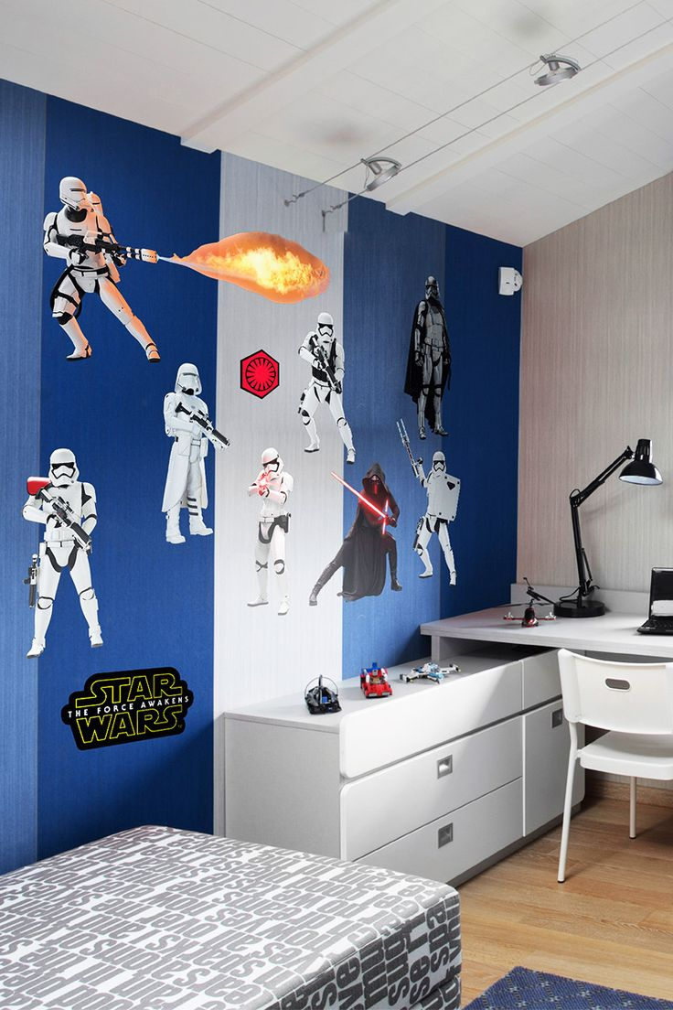 97 best star wars bedroom ideas for boys kids home decor if youre looking for a star wars gift fathead has the perfect wall amipublicfo Gallery