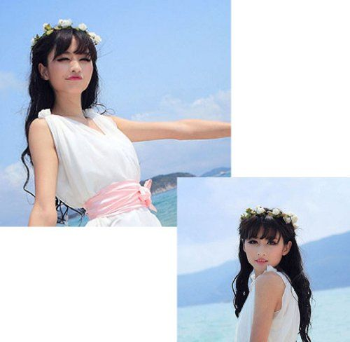 Amcctvshop Fashion Elegant 1pc Retro Seaside Beach Flowers Hair Band (White). Head circumference:50cm+Adjustable. 2>We are dedicated to creating products that provide our Amazon customers satisfaction beyond expectations. 100% Brand new and high quality. 3>Bessky highly appriciate all customers' opinions to improve the selling ,also if anything you unsatisfied, pls contact our customer service department for probable best solution. 1>Bessky(TM) is US brand producing a full line of...