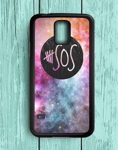 5 Second Of Summer Logo Galaxy Samsung Galaxy S5 | Samsung S5 Case