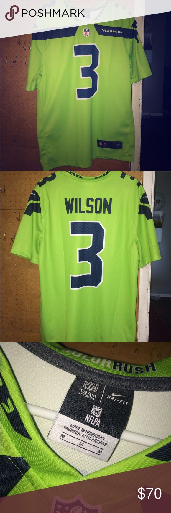 Color rush Seahawks Jersey Color rush Seahawks jersey Nike Shirts