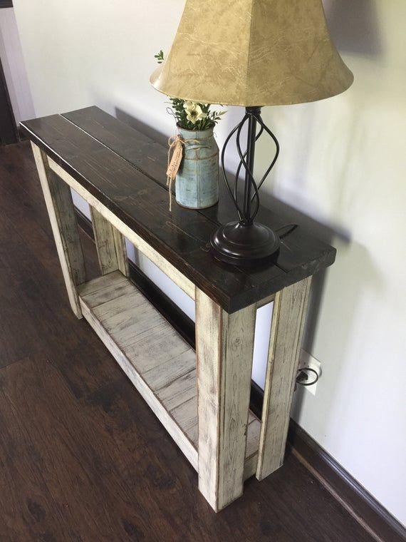 Entryway Table Farmhouse Table Hallway Table Sofa Table
