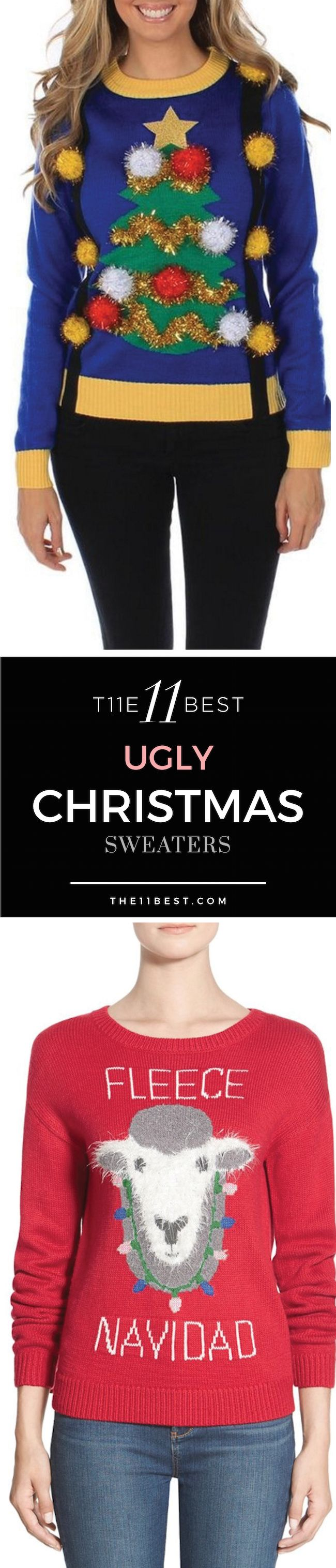 The 11 Best Ugly Christmas Sweaters