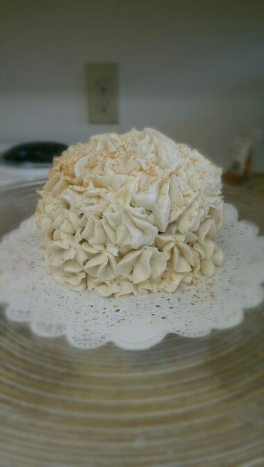 Gluten free carrot cake with cream cheese frosting! So moist and yummy!