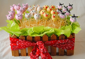 barn yard animals! should have made these for the goose's 1st bday!