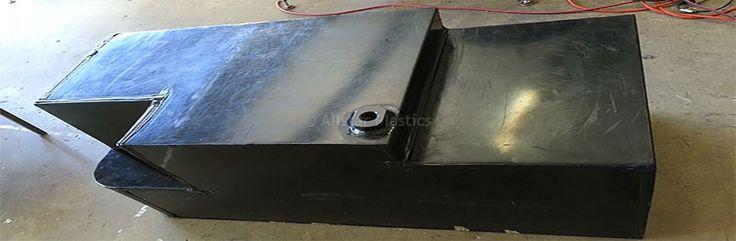 HDPE Petrol Tank Custom Fabricated