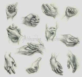 El arte de Arantxa: Como dibujar manos