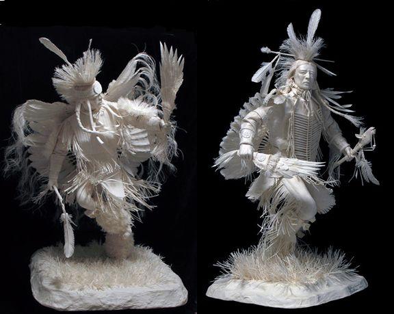 figuras de porcelana indios americanos - Recherche Google