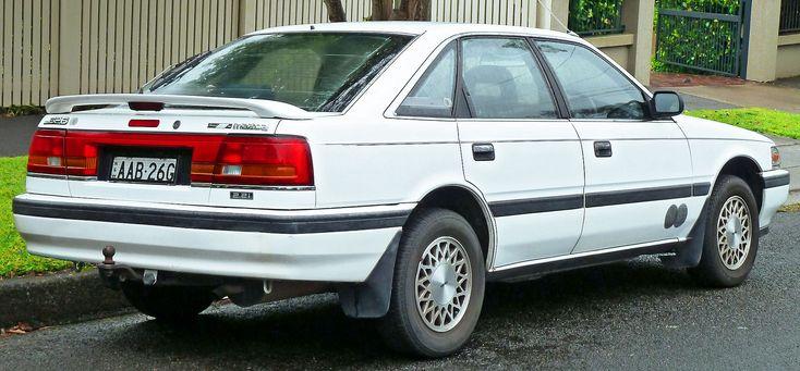 1990 Mazda 626 Gd Series 2 Eclipse 2 2i Hatchback 2011 11 17 02 Mazda Capella Wikipedia Mazda Capella Mazda Hatchback